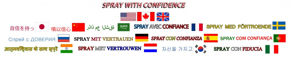 spray with confidence many langv5 page headerv2